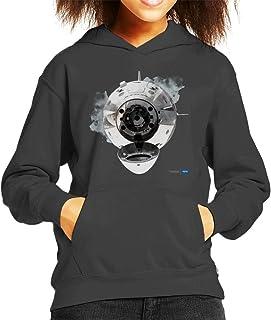 Nasa SpaceX Dragon Capsule Docking Kid's Hooded Sweatshirt