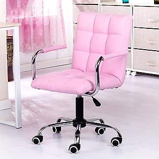 Sillas de escritorio giratorias, silla de oficina en casa, silla de ordenador, respaldo giratorio, silla de estudiante