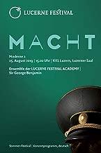 LUCERNE FESTIVAL: Konzertprogramm zu Moderne 2, Sommer-Festival 2019 (German Edition)