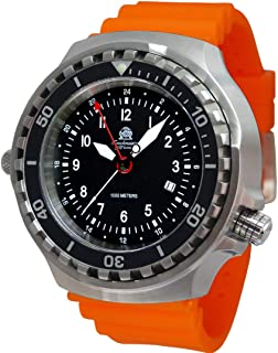 Tauchmeister Watch with Swiss Ronda GMT Movement Sapphire Glass T0311OR