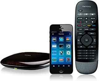 Logitech 915-000194 - Harmony Smart Remote Control with Smartphone App - Black (Renewed)
