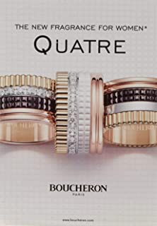 Quatre by Boucheron for Women - Eau de Parfum, 100ml