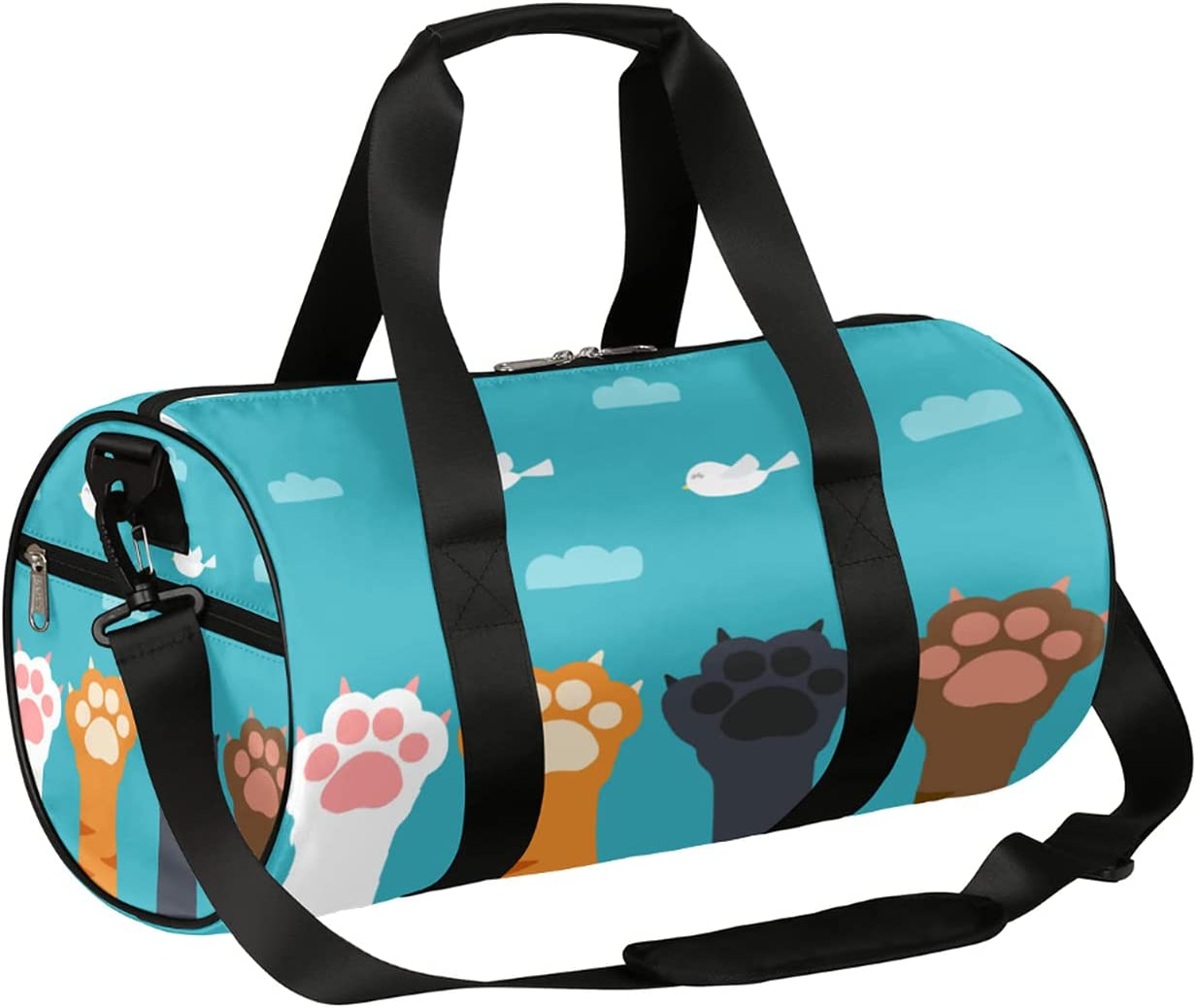Sport Gym Our shop OFFers the best service Bag Cute Animal Small Autumn Fox Duffel lightweigh Free Shipping Cheap Bargain Gift