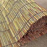 すだれ 竹ブラインド自然リードカーテンローラーブラインド、シェーディングパーティションストローカーテン、防水と防塵、屋外屋内用