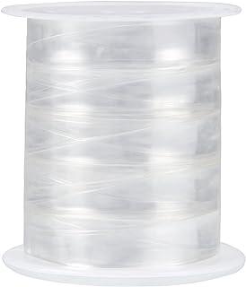Sumind 10 Metri Trasparente Elastico Elasticizzato Leggero Elastico per Progetto da Cucire Panno