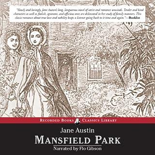 Mansfield Park audiobook cover art
