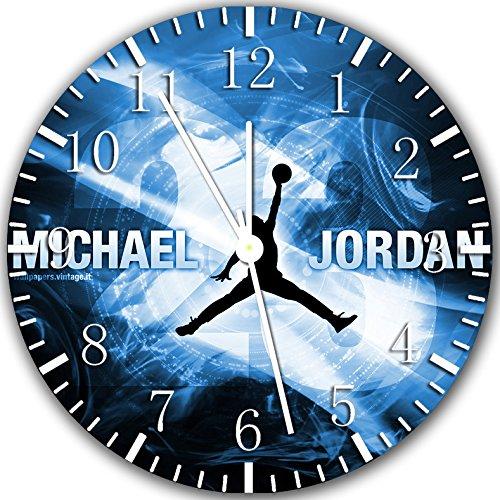 Michael Jordan Wanduhr 25,4 cm Will Be Nice Gift und Raum Wand Decor X34