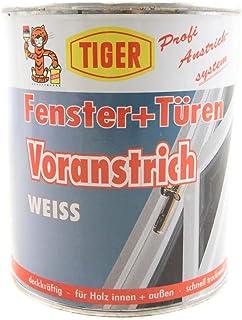 Tiger Grundierung Fenster  Türen Voranstrich weiss seidenmatt 0,75 L