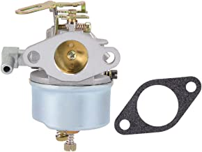 uxcell 632113 Carburetor Carb for Tecumseh 632113A Fits HS40 HSSK40 Engines Mower with Gasket