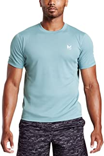 Mission Men's VaporActive Alpha Short Sleeve Athletic Shirt, Citadel, X-Large