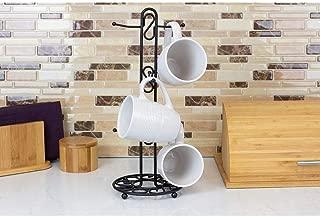 Home Basics Black Mug Tree