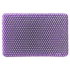 Innovative, Purple Pillow Gently conforms to your head and neck Provides maximum comfort and support Firm around edges and soft in the center for comfort all night