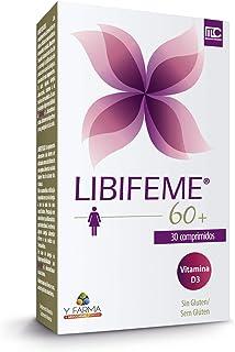 LIBIFEME 60 + Mejora la Lubricacion Vaginal y La Sensibilidad en la Pos Menopausia – Mejora la hidratación