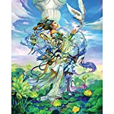 Spilsbury - 1000 Large Piece Premium Jigsaw Puzzle for Adults by Artist Chen Wei - Fantasy Celebration - Spilsbury Puzzle Company Premium Collection