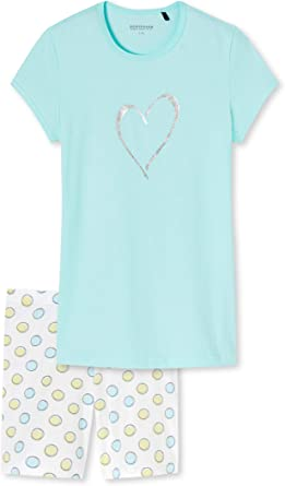 Schiesser Mädchen Anzug Kurz Pijama para Niñas