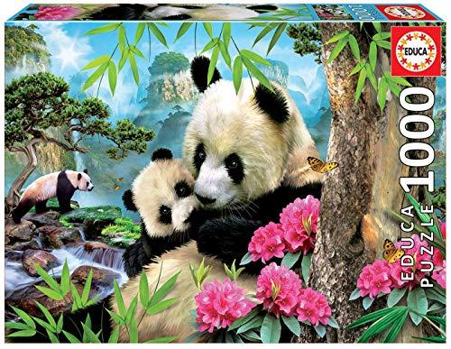 Educa Borras - Panda Bear Puzzle ,1000 Teile (17995)