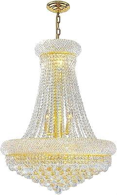 Amazon.com: Set de 2 – 1 lámpara de araña con cristal de ...