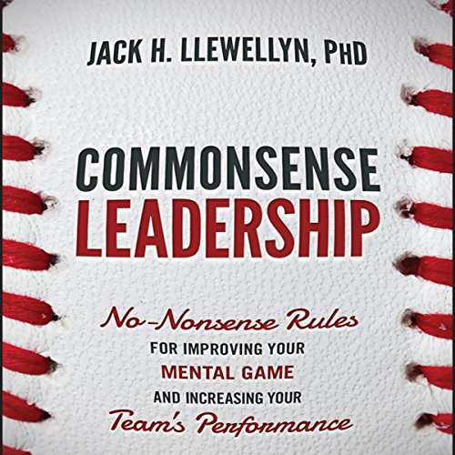 Commonsense Leadership audiobook cover art