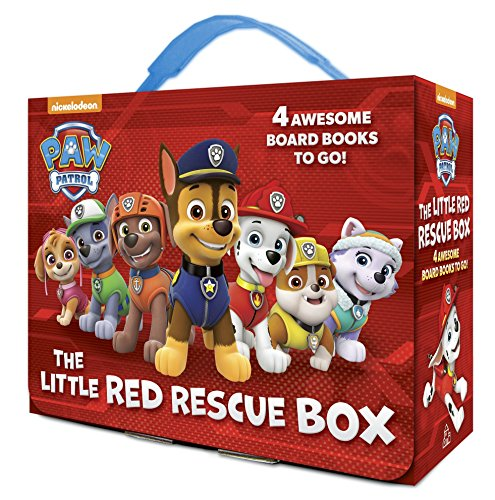 The Little Red Rescue Box (PAW Patrol): 4 Board Books