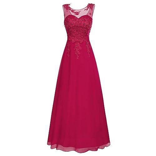 3d016df707c97 GRACE KARIN Vestido Largo Elegante para Mujer de Fiesta para Boda Ceremonia  Maxi