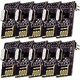 AZDelivery 10 x NRF24L01 de 2.4GHz Modulo Wireless compatible con ESP8266, Raspberry Pi, etc.