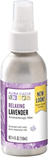 Aura Cacia Relaxing Lavender Mist | GC/MS Tested for Purity | 118 ml (4 fl. oz.)