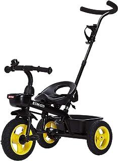 BTM 子ども用自転車 三輪車のりもの キッズバイク コントロールバー付き 乗用玩具 足けり 1年安心保証 クリスマスプレゼント