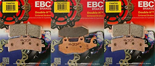 EBC Double-H HH Front & Rear Brake Pad Kit - Triumph Speed Triple 1050 2013-2017