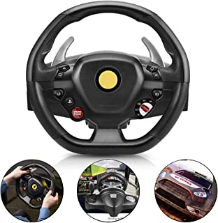 Driving Force Race Wheel, Racing Game Steering Wheel Stand, Suitable For Ps4 / Pc Vibration Controller, Racing Wheel With ...