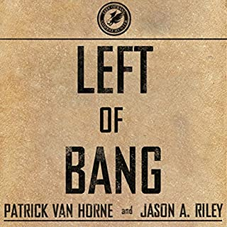 Left of Bang audiobook cover art