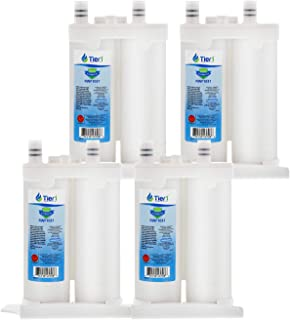 Tier1 Replacement for Frigidaire WF2CB PureSource2, NGFC 2000, 1004-42-FA, 469911, 469916, FC 100 Refrigerator Water Filter 4 Pack