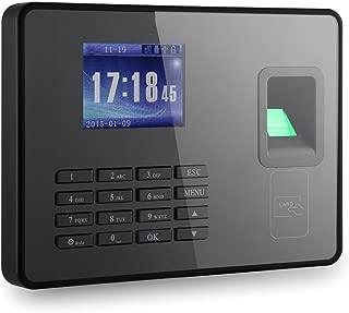 KKmoon Sistema de Huella Digital,Chip de Grado Industrial,Pantalla de 2.8'' TCP/IP,500 DPI ,Capacidad de Huellas Digitales: 3000,Apoyo Operación Fuera de Línea