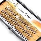 Makeup Individual False Eyelashes Eye Lash Cluster 0.10mm C Curl Soft Extension (12mm)