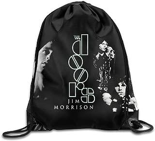 Drawstring Bag The Doors Jim Morrison Rock Band Nylon Home Travel Sport Storage