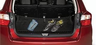 Envelope style trunk cargo net for Subaru Impreza 2012-2016 Crosstrek 2013-2017 WRX 2012-2014 WRX STI 2012-2014