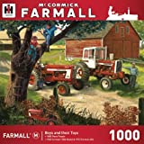 MasterPieces Farmall Case IH - Boys and Thier Toys 1000pc Puzzle