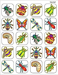 Teacher Created Resources Insects Stickers, Multi Color