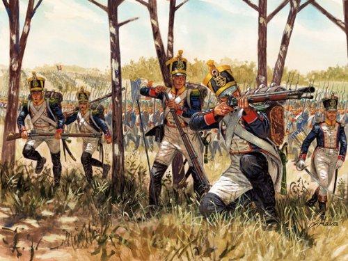 The Hobby Company 8001283060660 Italeri 510006066 - 1:72 Napoleon Kriege, Franz Infanterie