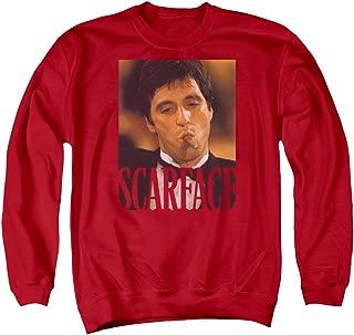 Scarface Mens Smoking Cigar Sweater