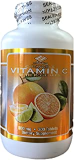 Nu Health Vitamin C Chewable 500mg 300 Tablets