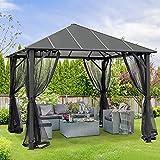 AsterOutdoor 10x10 Outdoor Insulated Hardtop...