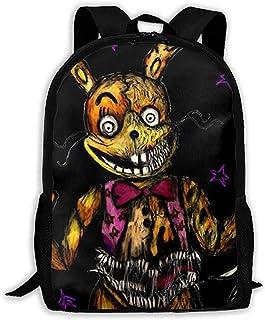 Kimi-Shop Mochila Unisex para Adultos Five Nights At Freddy´s Bookbag Travel Bag Schoolbags Laptop Bag para Hombres y Mujeres