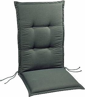 BEST 4101233 Gris Seat & Backrest cojín - Cojines (Seat & Backrest, Silla, Gris, Rectángulo, Monótono, 500 mm)