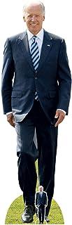 Star Cutouts Ltd SC2260 USA President Joe Biden Lifesize - Soporte de cartón con mini recortes, decoración increíble para ...