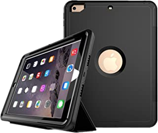 Checoo New iPad 9.7 2017/2018 ケース アイパッドケース 全面保護 耐衝撃 生活防水 防塵 PC+TPU二重構造