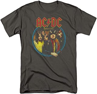 ACDC Highway to Hell Rock Album T Shirt & Stickers