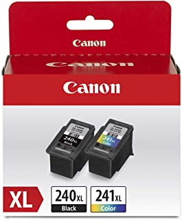 Canon PG-240 XL Black & CL-241 XL Color Ink Cartridge Value Pack for PIXMA Printers