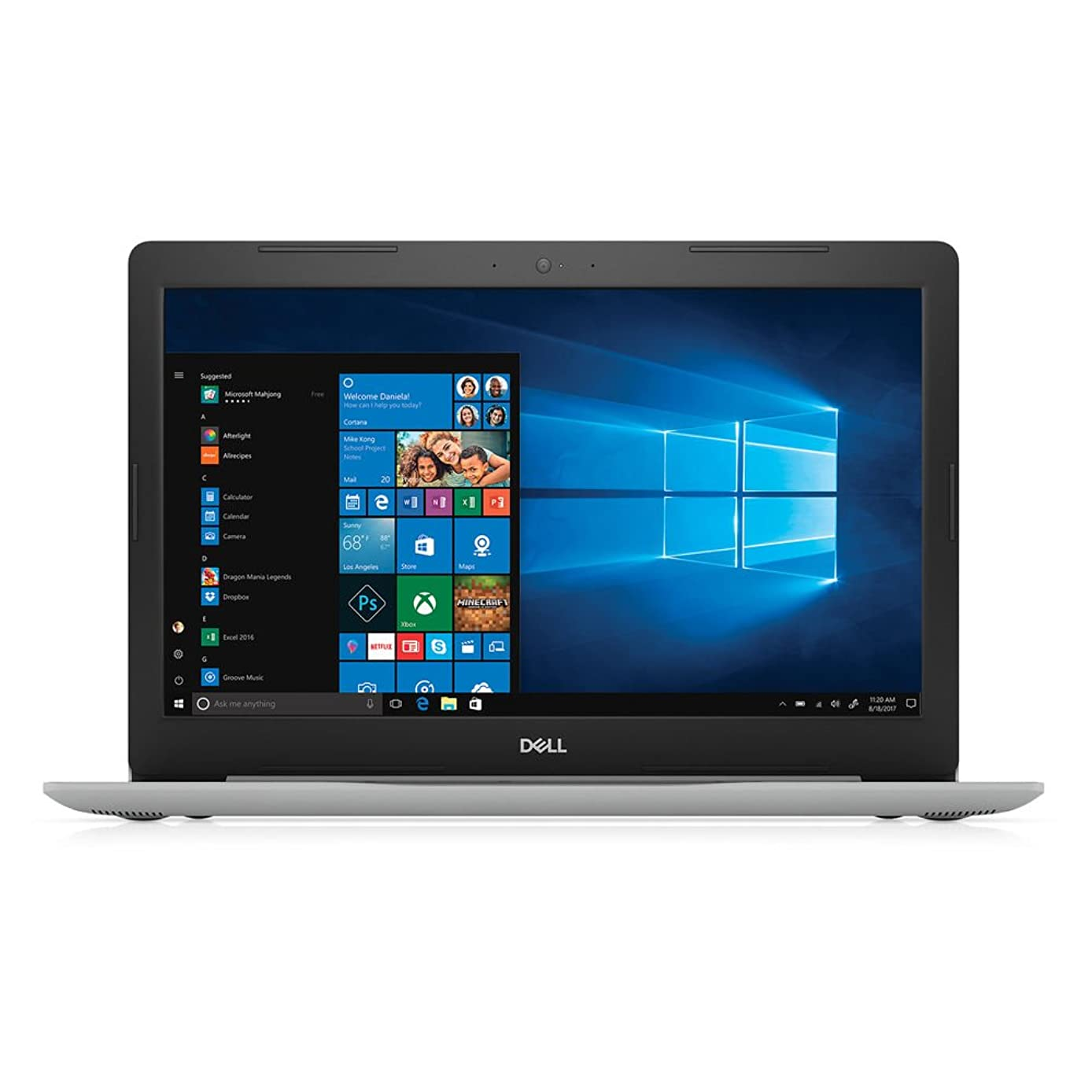 Dell Inspiron 15 5000 Laptop: Core i5-8250U, 256GB SSD, 8GB RAM, 15.6-inch Full HD Display, Windows 10