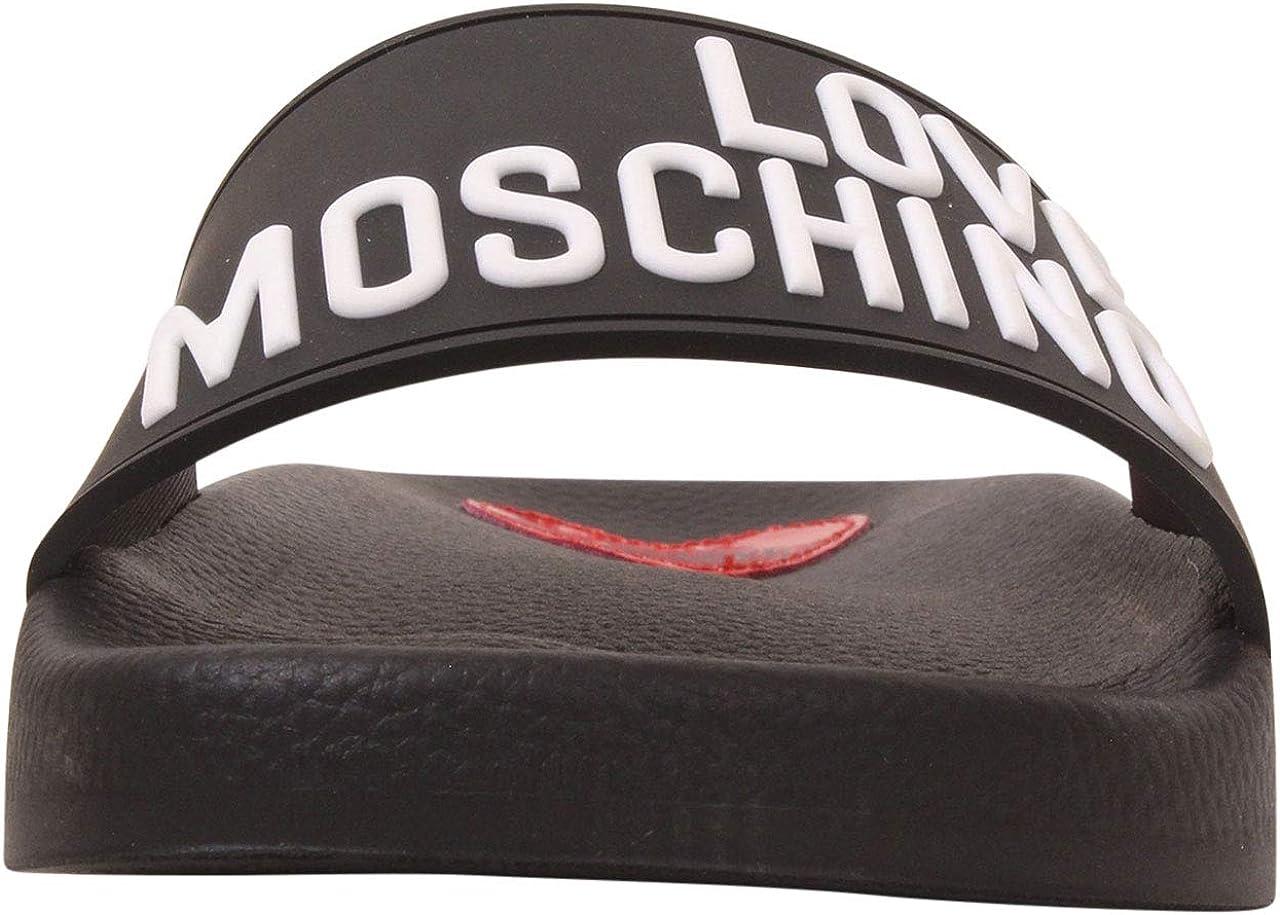 Love Moschino Women's Cinturino alla caviglia Sandali