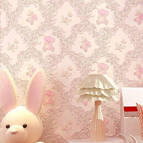 Brillant Auto Adhésif Papier Peint Peel et Bâton Lustre contact papier rose ou blanc